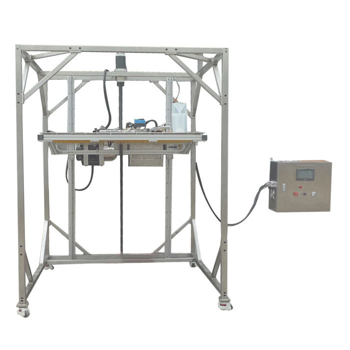 IEC 60529 IP Testing Equipment , IPX1 IPX2 Movable Rain Drip Box Ingress Protection Test Equipment